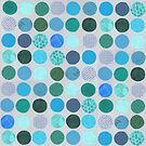 Curious Dots - Ocean Tones by Kim Dettmer