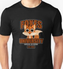 Foxes University  2 T-Shirt