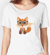 Fox Nerd Women's Relaxed Fit T-Shirt