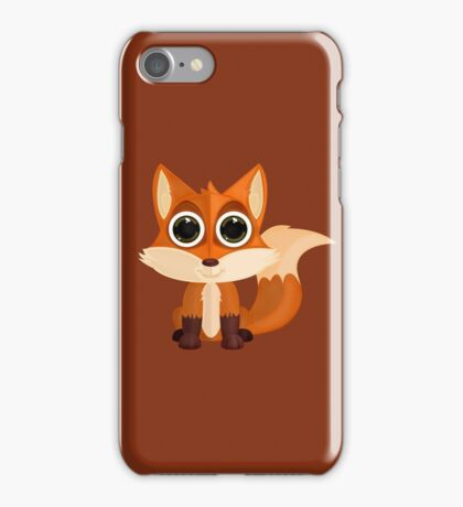 Fox (2) iPhone Case/Skin
