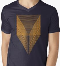 deep V Mens V-Neck T-Shirt