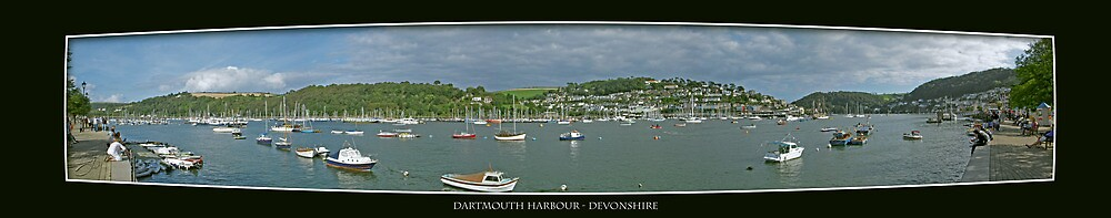 Dartmouth Harbour - Devonshire, England by newshamwest