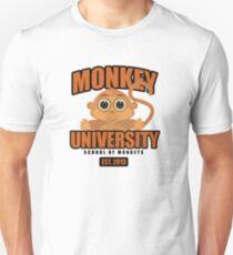 Monkey University Unisex T-Shirt