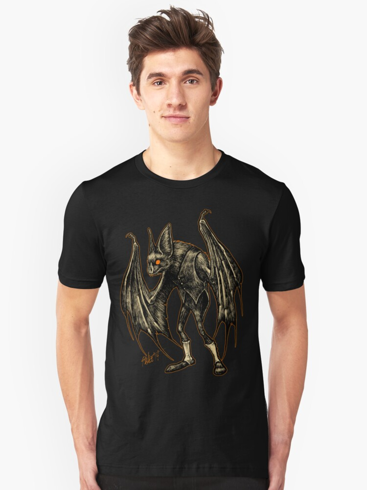 Autumn People 2 : Pugmeyer (Bat in Spats) Unisex T-Shirt Front
