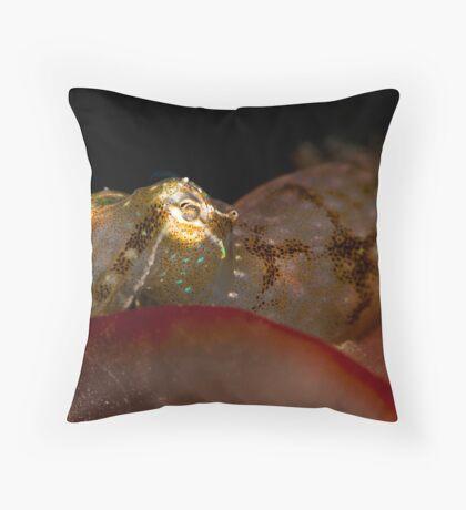 Peeping Pygmy Throw Pillow