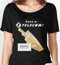 Telecom Cigarettes Will Kill You Alternative Women's Relaxed Fit T-Shirt