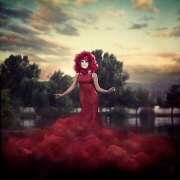 Red Ghost by trinischultz