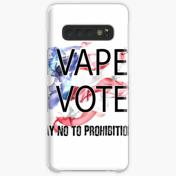 I VAPE I VOTE NO to Prohibition  Samsung Galaxy Snap Case