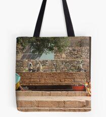 Chittorgarh Vendors, Rajasthan, India Tote Bag