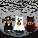 The Trick or Treaters by Ryan Conners