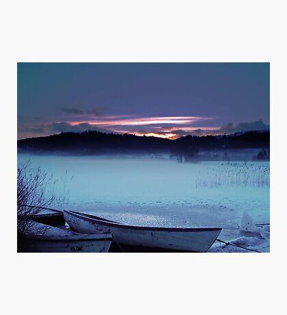 The Last Light Photographic Print