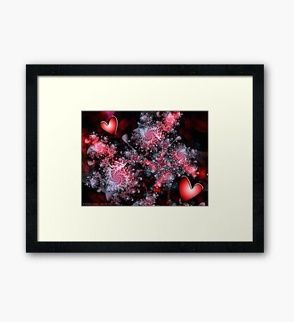 Love in Bloom Framed Print