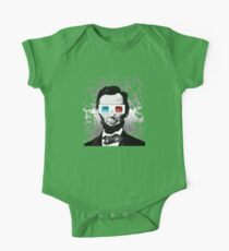 Abraham Lincoln - 3D (2) One Piece - Short Sleeve