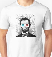 Abraham Lincoln - 3D (2) T-Shirt