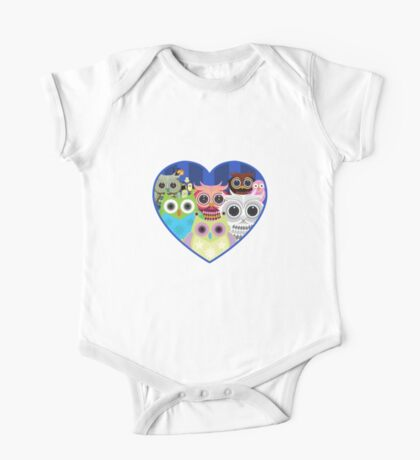 Love Owls 2 (White) Kids Clothes