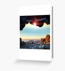 Window to the Sky Greeting Card