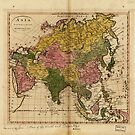 Map of Asia (1814) by allhistory