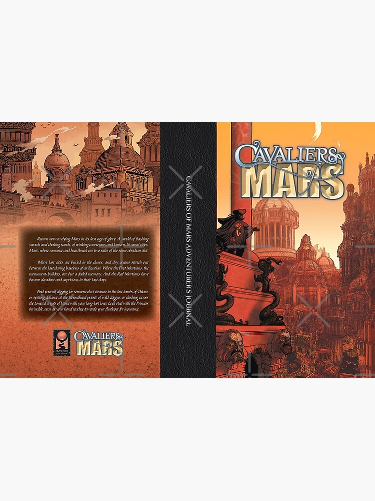 Cavaliers of Mars Art: City of Vance by TheOnyxPath