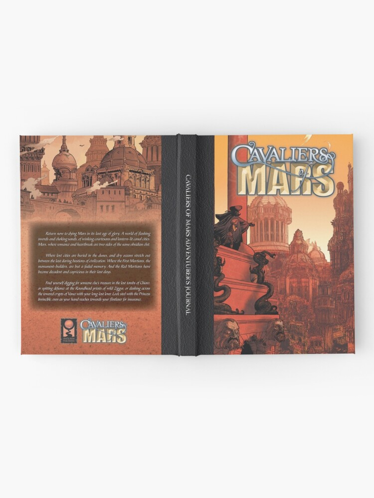 Alternate view of Cavaliers of Mars Art: City of Vance Hardcover Journal