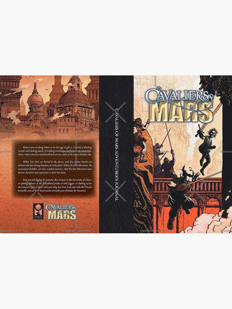 Cavaliers Art: Cavalier of Mars Cover by TheOnyxPath