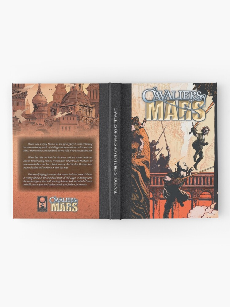 Alternate view of Cavaliers Art: Cavalier of Mars Cover Hardcover Journal