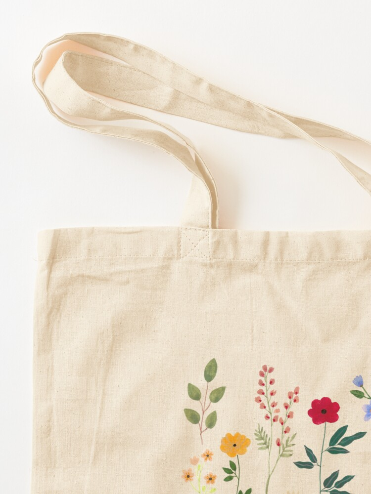 Alternate view of Spring Botanicals Tote Bag