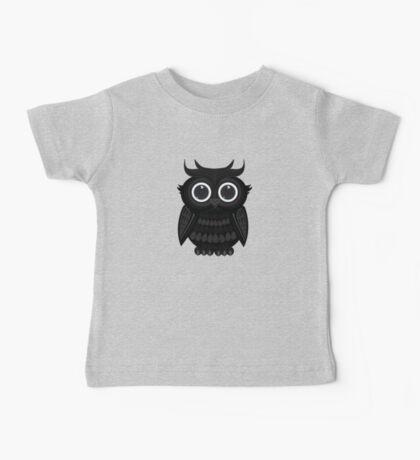 Black Owl - White Kids Clothes