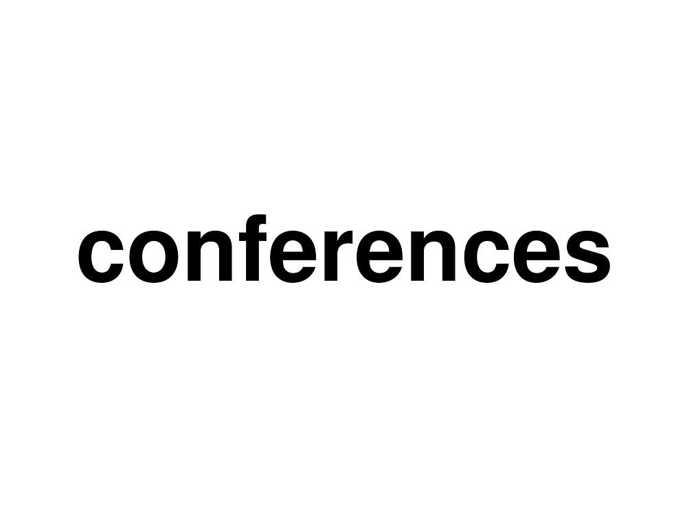 conferences by ninov94