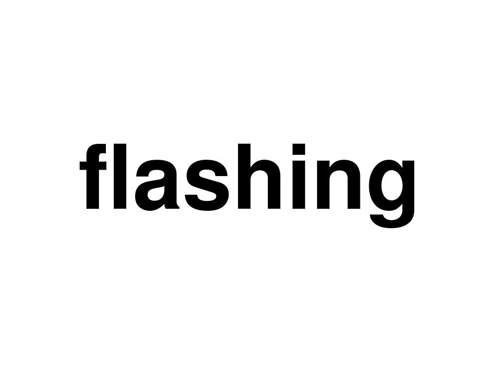 flashing by ninov94