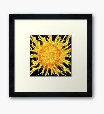 SUN, SUN, SUN, HERE WE COME! Framed Print