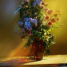 a bouquet of roses for loved ones by VallaV