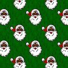 schwarzer Weihnachtsmann Weihnachten von gossiprag