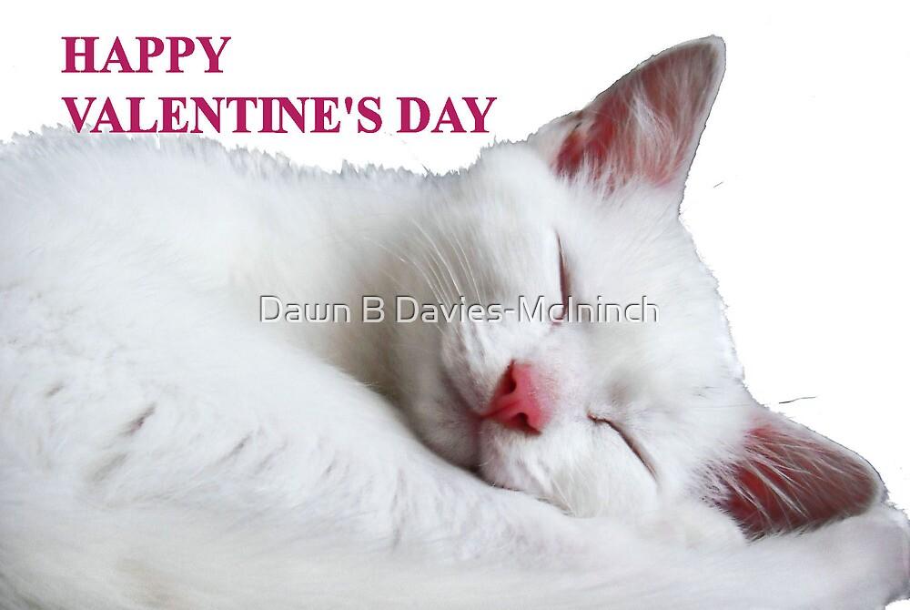 Happy Valentine's Day Card by Dawn B Davies-McIninch