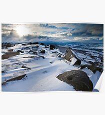 Curbar Snows Poster