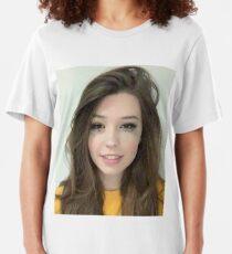 belle delphine's mugshot Slim Fit T-Shirt