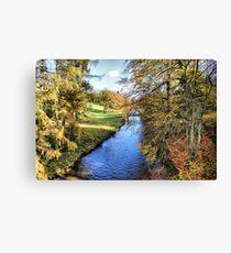 River Ure - Broughton Estate Canvas Print