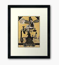 Telephone Fairy Framed Print
