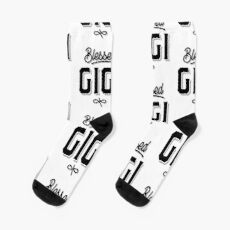 Womens Blessed Gigi Mother's Day Gifts Socks