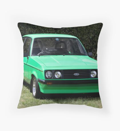 Ford Escort RS2000 MK2 Throw Pillow
