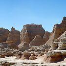 Badlands NP / Sand Castles by Mark Bolen