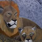 Even the King and Queen of the Jungle need Rest by towncrier