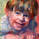 A Portrait A Day 43 - Allen by Yevgenia Watts