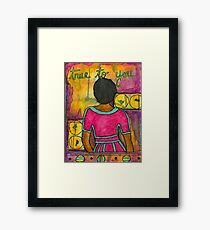 True to YOU Framed Print