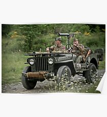 Patrol Jeep Poster