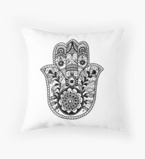 The Hamsa Hand Throw Pillow