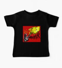 Borderlands Psycho on Fire Baby T-Shirt