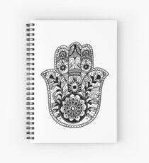 The Hamsa Hand Spiral Notebook