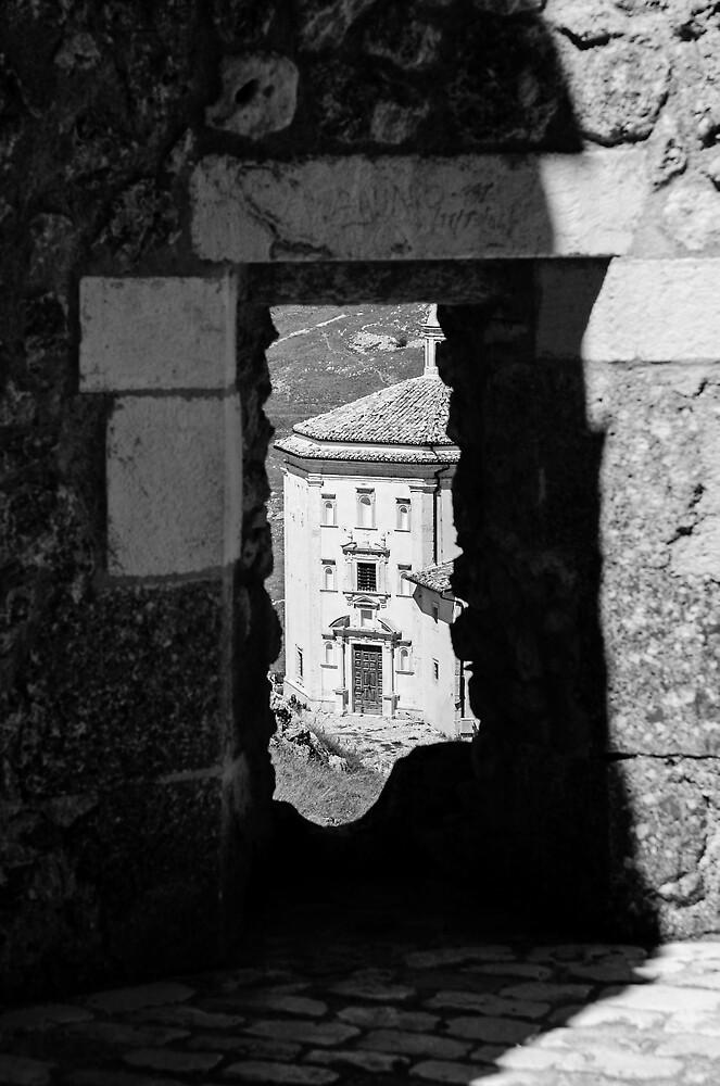 Italian Monuments - The Church of Santa Maria della Pietà by Andrea Mazzocchetti