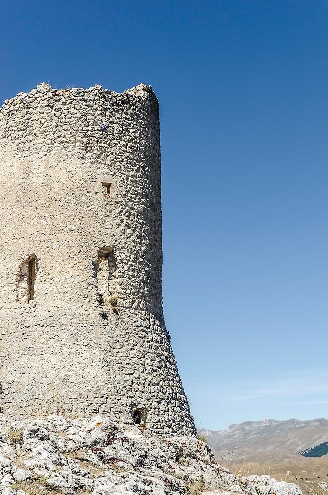 Watchtower of Heaven - Rocca Calascio  by Andrea Mazzocchetti