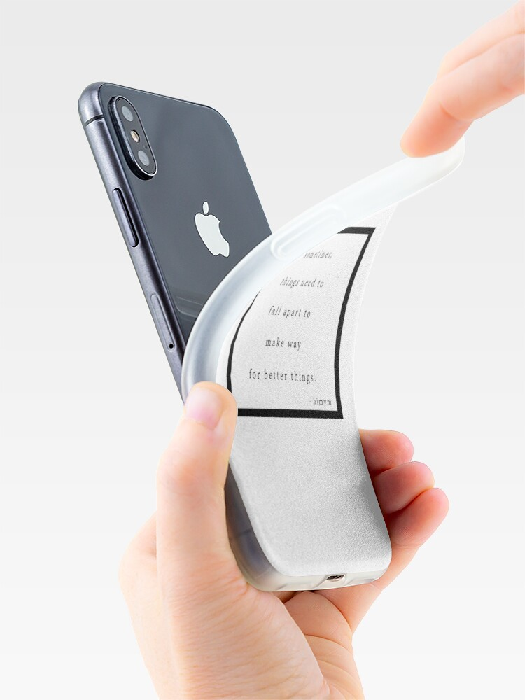 Vista alternativa de Vinilos y fundas para iPhone Desmoronarse